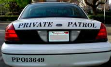Apollo Protection Agency Vehicle Patrol